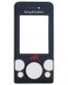 Kryt Sony-Ericsson W580i černý -Přední kryt vhodný pro mobilní telefony Sony-Ericsson: Sony-Ericsson W580i