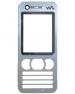 Kryt Sony-Ericsson W890i stříbrný originál-Originální přední kryt vhodný pro mobilní telefony Sony-Ericsson: Sony-Ericsson W890i