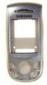 Kryt Samsung E800 kryt stříbrný OEM-Kryt vhodný pro mobilní telefony Samsung: Samsung E800
