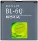Baterie  Nokia BL-6Q-Originální baterie BL-6Q pro mobilní telefony Nokia:Nokia 6700 ClassicKapacita baterie 970 mAh Li-ion