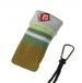 Pouzdro PONOŽKA EGO s karabinkou 25-Pouzdro PONOŽKA EGO s karabinkou 25, je určeno pro :* mobilní telefony* MP3* MP4* Ipod* malé typy tenkých fotoaparátůVelikost pouzdra  :  65 x 120 mmMateriál  : 80% cotton, 15% polyester, 5% spandexPouzdro PONOŽKA EGO je skvělým řešením do kabelky, na cesty, na kolo, do fitka a nebo všude tam, kde potřebujete mít svého mobilního miláčka při ruce.