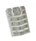 Klávesnice Nokia 3100  stříbrná originální-Klávesnice pro mobilní telefony Nokia:Nokia 3100 stříbrná originální
