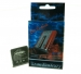 Baterie Samsung E310 850mAh Li-ion -Baterie pro mobilní telefon Samsung:Samsung E310...Kapacita baterie: 850mAh.Náhradníbaterie do mobilního telefonu s články typu Li-ion.