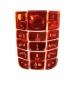 Klávesnice Nokia 3120 krystal červená-Klávesnice pro mobilní telefony Nokia :Nokia 3120