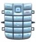 Klávesnice Nokia 6020 / 6021 stříbrná-Klávesnice pro mobilní telefony Nokia  :Nokia 6020 / Nokia 6021 stříbrná